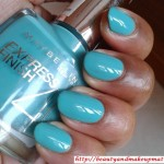 Maybelline-Express-Finish-Nail-Polish-Turquoise-Lagoon-NOTD