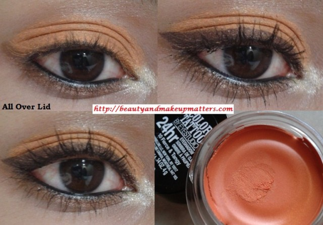 Maybelline-Tattoo-Eye-shadow-Fierce-and-Tangy-EOTD