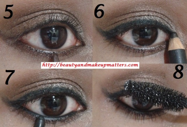 Metallic-Shimmery-Bronze-Eyes-With-Maybelline-Bad-To-Bronze-Look2