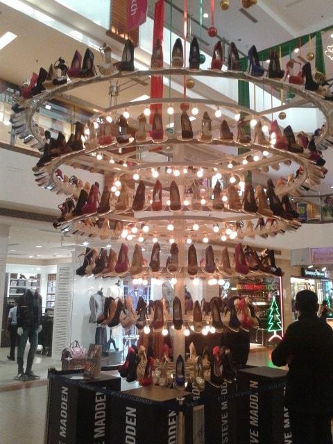 Steve-Madden-Chandeliar-of-Shoes-1