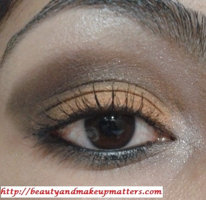 Eye-Makeup-Look-Orange-brown-eyes