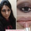 Eye-Makeup-Look for-Metallic-Copper-Brown-Smokey-Eyes