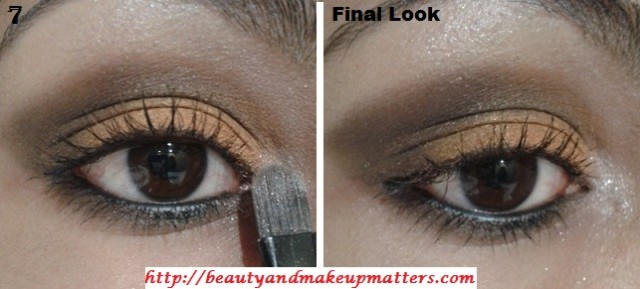 Eye-Makeup-Tutorial-Orange-brown-eyes-Step-2