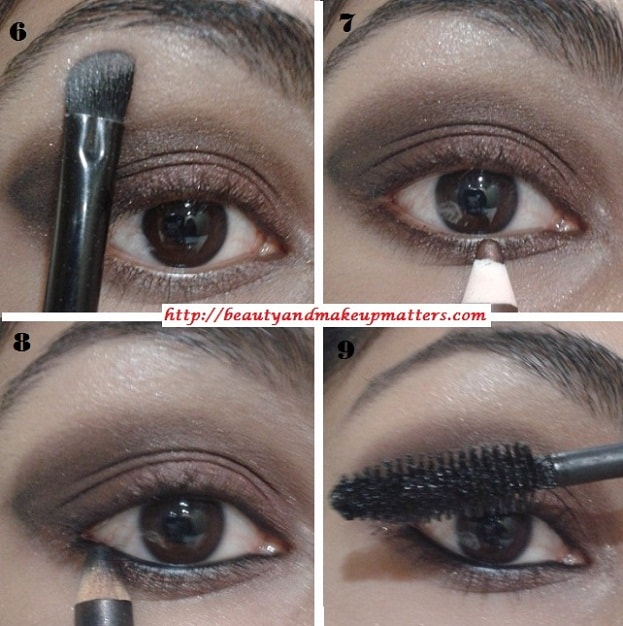 EyeMakeupTutorial-Metallic-Copper-Brown-Smokey-Eyes-Look-2