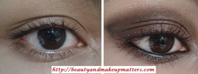 EyeMakeupTutorial-Metallic-Copper-Brown-Smokey-Eyes-Look-Before-After