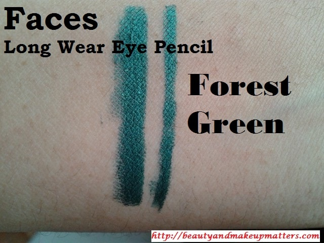 Faces-Long-Wear-Eye-Pencil-Forest-Green-Swatch