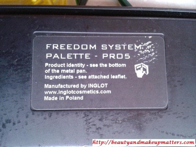 Inglot-Freedom-System-Palette
