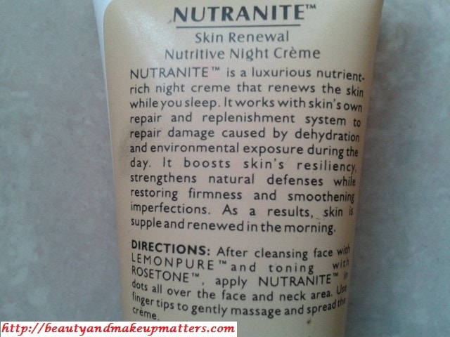 Lotus-Herbals-Nutranite-Skin-Renewal-Night-Cream-Claims