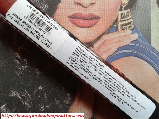 Revlon-Colorburst-LipGloss-Sienna-Sparkle-Price