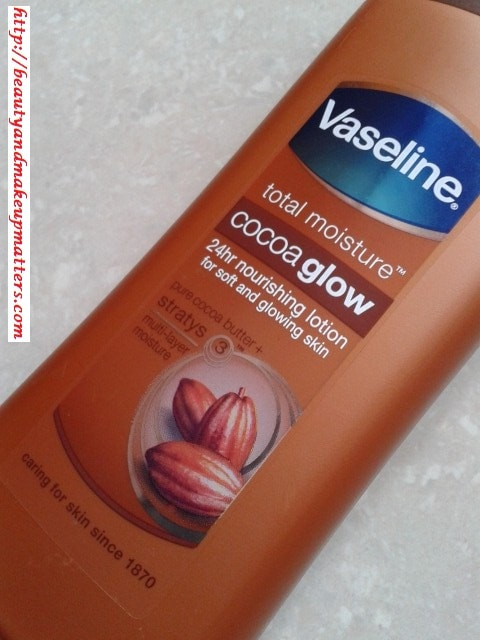 Vaseline-Cocoa-Glow-Body-Lotion-Review