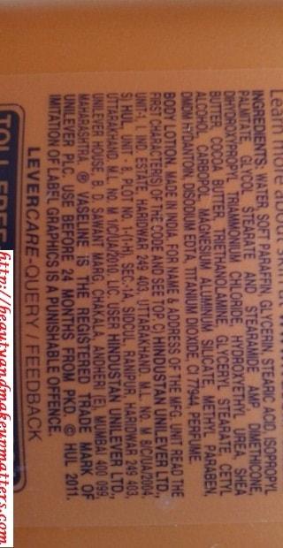 Vaseline-Total-Moisture-Cocoa-Glow-Body-Lotion-Ingredients