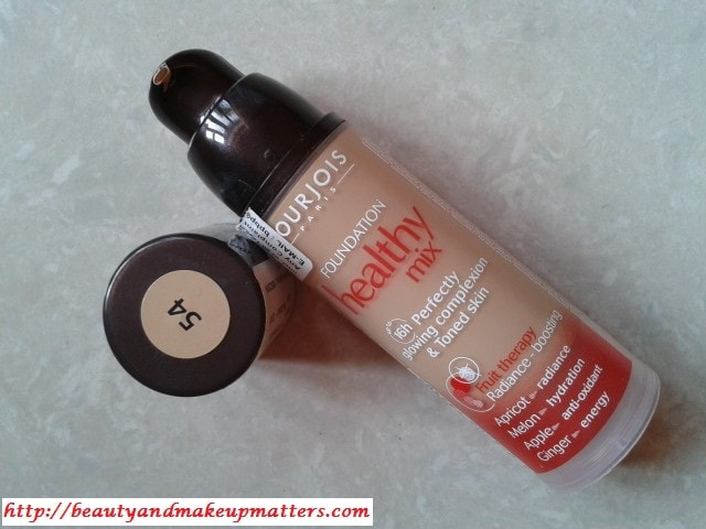 Bourjois-Foundation-Healthy-Mix-Beige-Review
