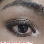 Bronzy Brown Shimmery Eye Makeup