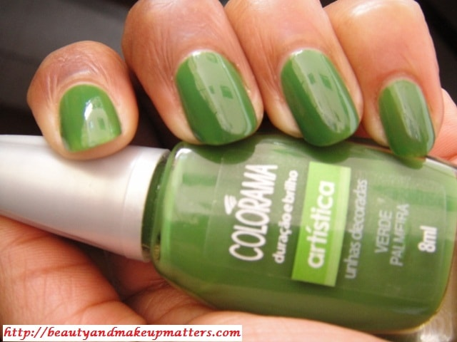 Maybelline-Colorma-Nail-Enamel-Verde-Palmeira-Nails