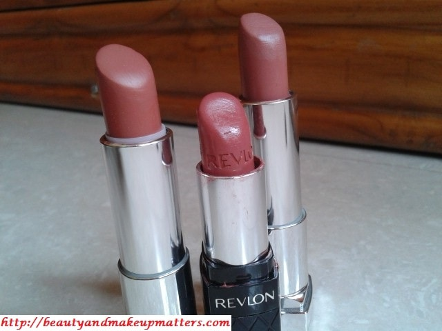 Revlon-ColorBurst-RosyNude-Maybelline-ColorSensational-Lipstick-MyMahogany-&-Totally-Toffee