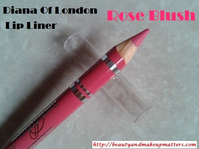 Diana-Of-London-Lip-Liner-Rose-Blush-Review