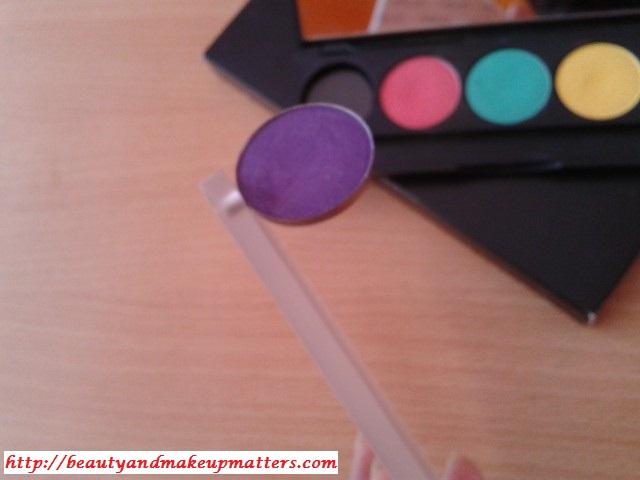 Inglot Empty Eye Shadow Palette