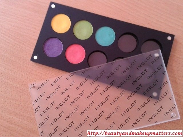 Inglot Eye Shadow Palette- 10 Rounds