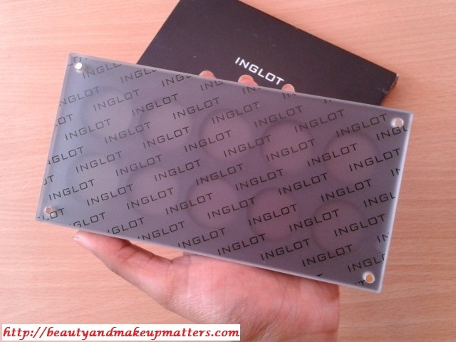Inglot Freedom System 10 Rounds Empty Eye Shadow Palette