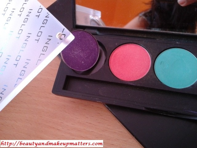 Inglot Freedom System Magnetic Empty Eye Shadow Palette