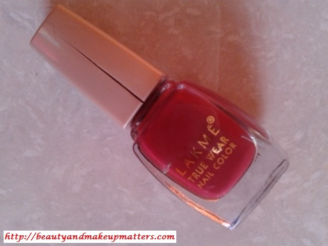 Lakme-True-Wear-Nail-Color-Freespirit D417 Manish Malhotra