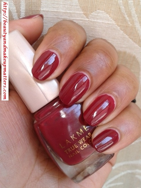Lakme-True-Wear-Nail-Color-Freespirit D417-Swatch