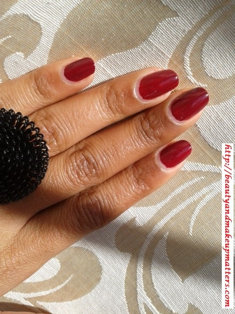 Lakme-True-Wear-Nail-Polish-Freespirit D417-Review