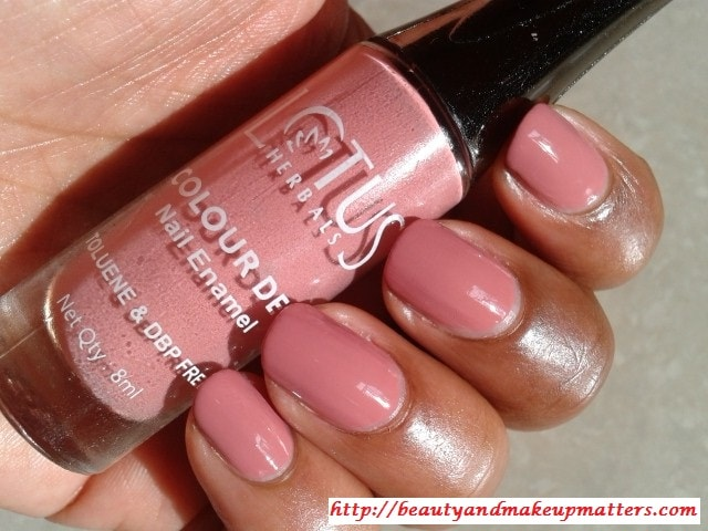 Lotus-Herbals-Color-Dew-Nail-Enamel-Cozy-Mulberry-94-NOTD