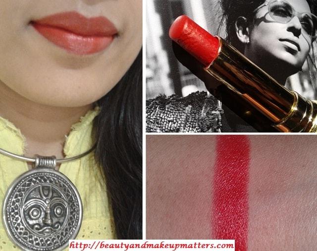 Lotus-Herbals-FloralStay-Long-Lasting-Lipstick-RedRover-Look