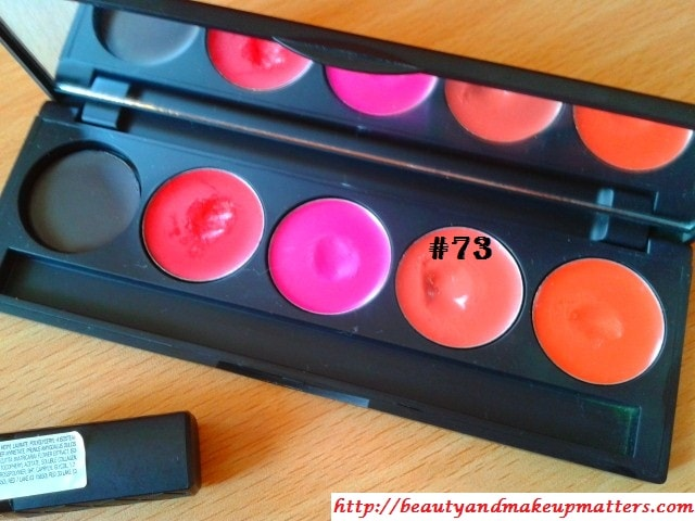 Makeup-Favorites-Inglot Freedom System Lipstick #73
