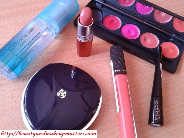 Makeup Favorites-March