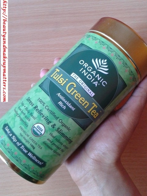 Organic India-Tulsi-Green-Tea-Review