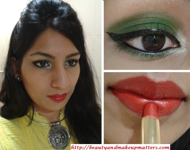 What-Am-I-Wearing-Today-DarkGreenEyes-and-OrangishRedLips