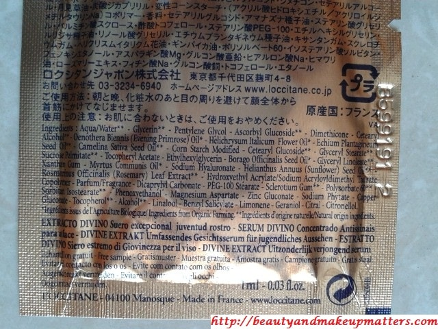 L'Occitane-Divine-Extract-Youth-Serum-Ingredients