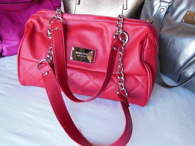 Nine West Red Bag@Wilsons Leather