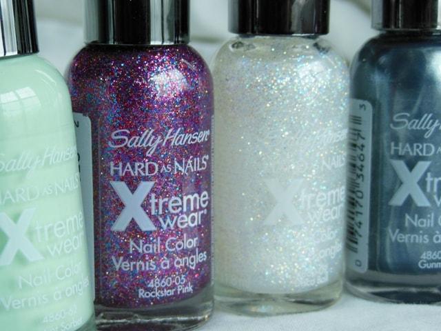 Sally Hansen Xtreme Wear Nail Paints- Rockstar Pink, Disco Balll
