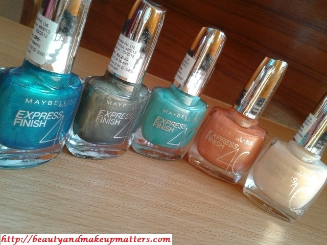 Swatch Fest-5-Maybelline-Express-Finish-Nail-Paints