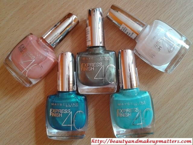 Swatch Fest-Maybelline-Express-Finish-Nail-Enamels