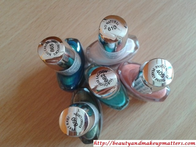 Swatch Fest-Maybelline-Express-Finish-Nail-Paints