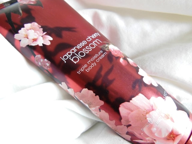 Bath & Body Works Triple Moisture Body Cream-Japanese Cherry Blossom