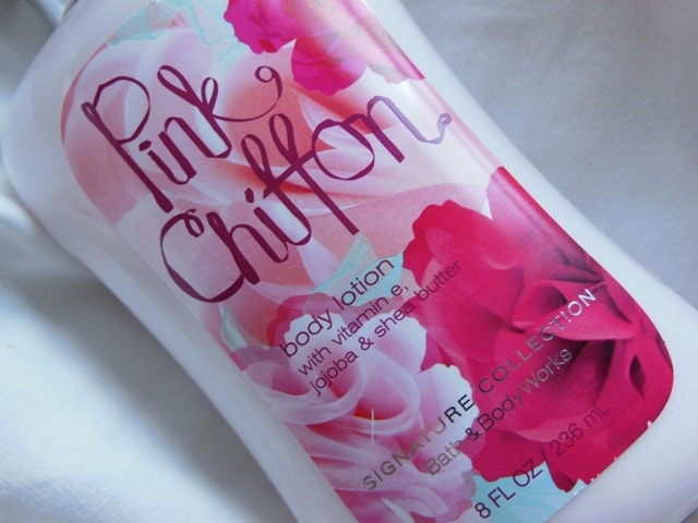 Bath and Body Works Body Lotion Pink Chiffon