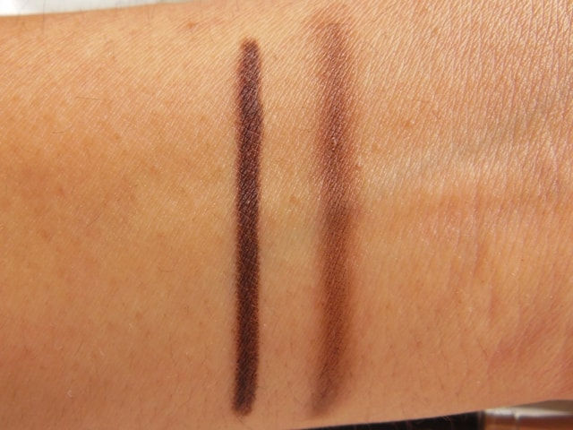 Covergirl Perfect blend Eye Pencil-Black Brown Swatch
