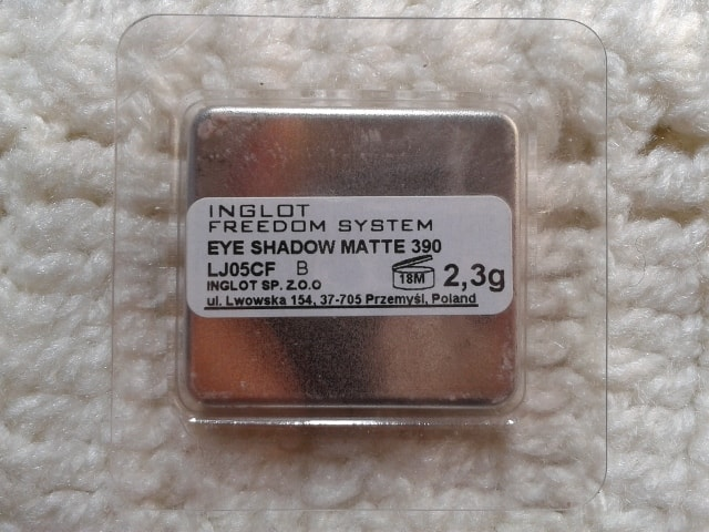 Inglot-Freedom-System-EyeShadow-390Matte