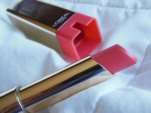 L'Oreal Color Riche Caresse Lipstick Sunset Angora Review