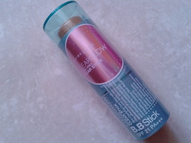 Maybelline ClearGlow Shine Free BB Stick
