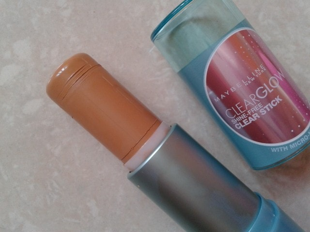 Maybelline ClearGlow Shine-free Clear Stick-Fawn Review