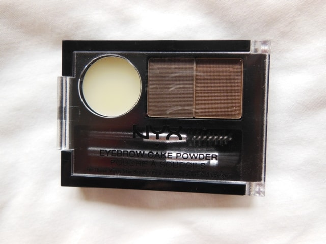 NYX Eyebrow Cake Powder- Dark Brown Brown