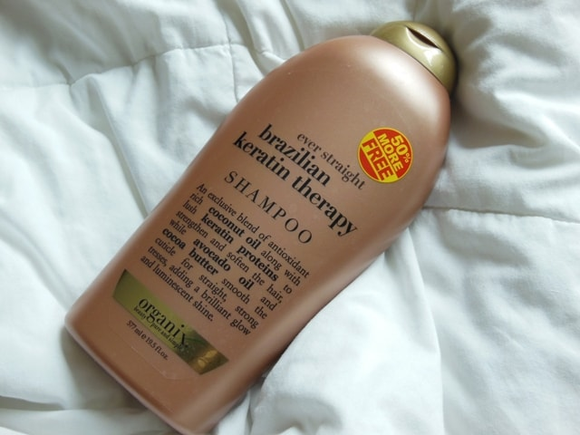 Organix Brazilian Keratin Therapy Shampoo Review