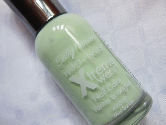 Sally Hansen Hard As Nails Xtreme Wear Nail Color Mint Sorbet