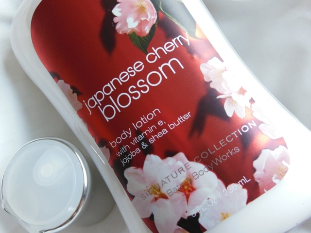 Bath and Body Works Body Lotion Japanese Cherry Blossom Review